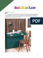 Desk Small Desk Cabinet