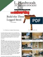 Stool Three Legged Stool
