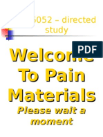 Pain and Analgesia Powerpoint Presentation