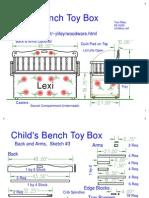 Toybox - Child's Bench