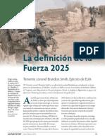 Military Review - La Definicion de La Fuerza.