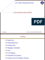 Entity Relations Model