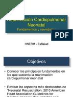 Reanimación Cardiopulmonar Neontal JULIO 2011 (2)