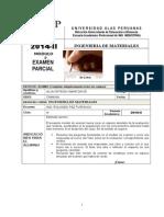 Examen Parcial ING MATERIALES 2 015-Enero