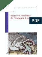 Dierkens = Sectes et hérésies de l'antiquité à nos jours