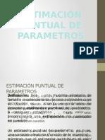 Estimación Puntual de Parametros