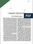 Columbus' Fall From Grace