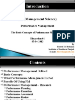 Performance Management Session 1