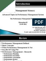 Performance Management Session 2