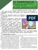 Hoja Parroquial nº 1472 del 18 de enero de 2015