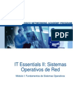 Capitulo 1 IT Essentials 2 Sistemas Operativos de Red - Español