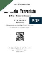 Stepniak - La Rusia Terrorista. Perfiles y bocetos revolucionarios [Ca. 1899]