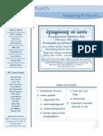 Newsletter - January 17, 2010