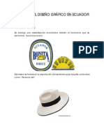 HISTORIA DEL DISEÑO - ECUADOR