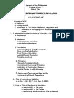 ADR Syllabus (1)