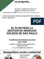Plan Gestion Resíduos São Paulo Dan Moche