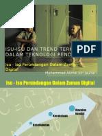 Isu-Isu Dan Trend Terkini Dalam Teknologi Pendidikan