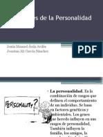 Dimensiones de La Personalidad Taller de Liderazgo