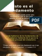 Cristo Es El Fundamento