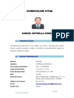 Samuel Estrella Gonzales Cv