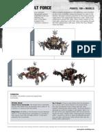 m1181497 Chaos Space Marines Datasheet - Defiler Assault Force