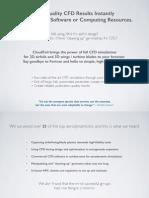 CloudFoil Info