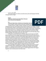 Sejarah Cekungan Sumatra