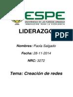 Creación de Redes-Paola Salgado