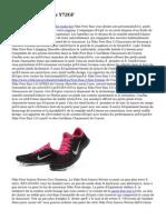 Nike Free Run Bleu Y72GF