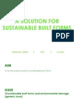 built form impacts