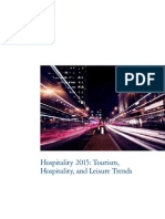 2015 Tourism Hospitality and Leisure Trends
