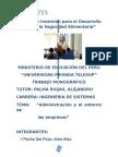 Tabajo Grupal . Administración y El Entorno de Las Empresas