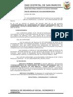 Resoluciones de La g.d.e.a 2010