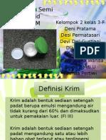 Kel. 2 Presentase Krim (Kimia Farmasi)