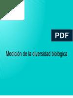 Medición de la diversidad biológica