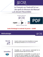Popularité. Hollande stagne, Valls progresse encore