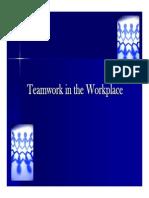 Teamwork PPT Presentation