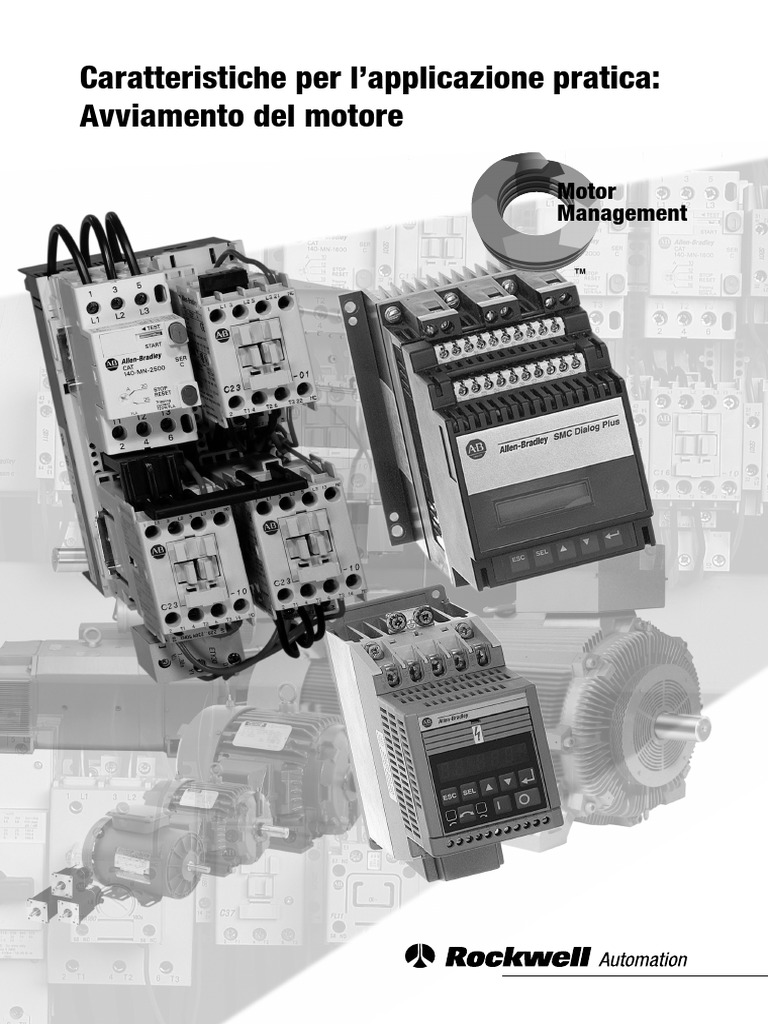 Schema Elettrico Per Avviamento Stella Triangolo : Avviamento del motore elettrico.pdf