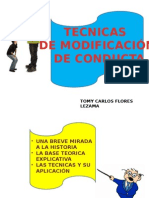 tecnicasdemodificaciondeconducta