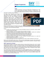 TDBP Tanzania Domestic Biogas Programme Bronchure-SNV TZ Info