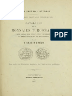 Catalogue des monnaies turcomanes