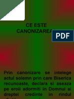 CANONIZARE