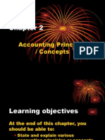 Chapter 2 Accounting Principles & Concepts