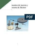 Momentos de Inercia y Teorema de Steiner