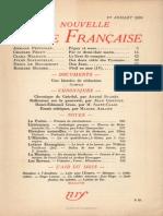 La Nouvelle Revue Francaise n 310 Juillet 1939