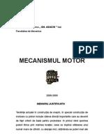 Proiect Mecanismul Motor