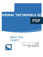 Financial management in Bien Hoa Suger