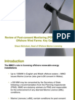 Nicholson 2014 Offshore Wind Post-Consent Monitoring