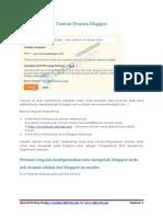 Cara Setting DNS Domain Untuk Blogspot