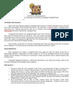 Festivals of Mindanao Guidelines & Mechanics